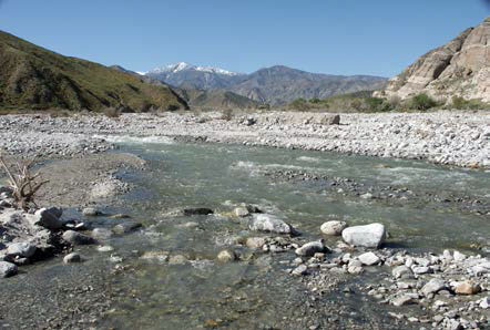 Photo of Whitewater Canyon with View of Mt San Jacinto in distance