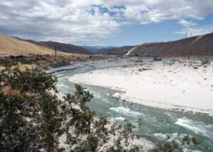 Photo of whitewater in wash